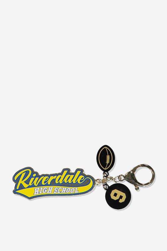 Riverdale Bag Charm, LCN WB RIVERDALE SERPENTS