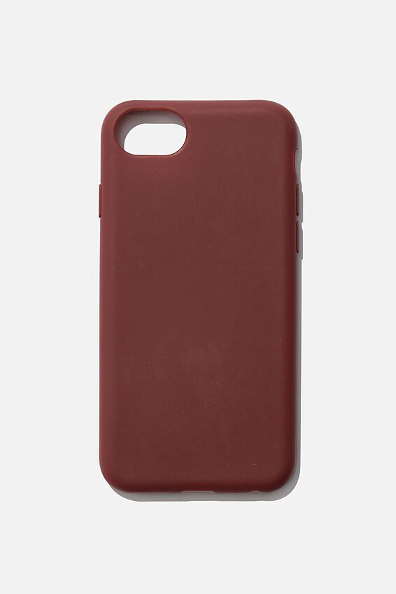 Recycled Phone Case iPhone 6, 7 ,8, SE, MULBERRY