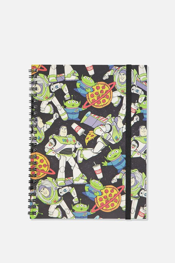 A5 Toy Story Spinout Notebook, LCN DIS TS BUZZ