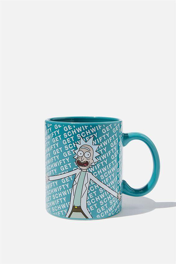 Rick & Morty Anytime Mug, LCN CNW RM RICK