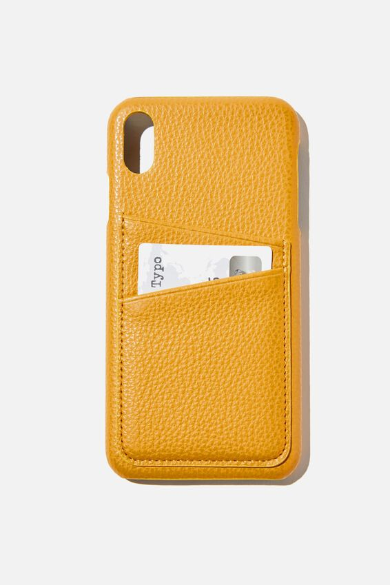 Phone Case iPhone Xs Max, MUSTARD