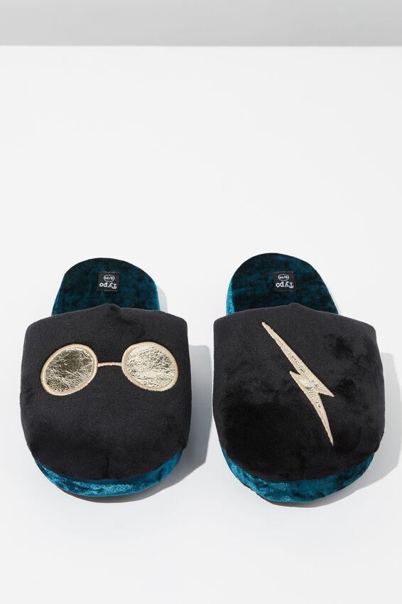 Harry Potter Novelty Slippers, LCN HP GLASSES