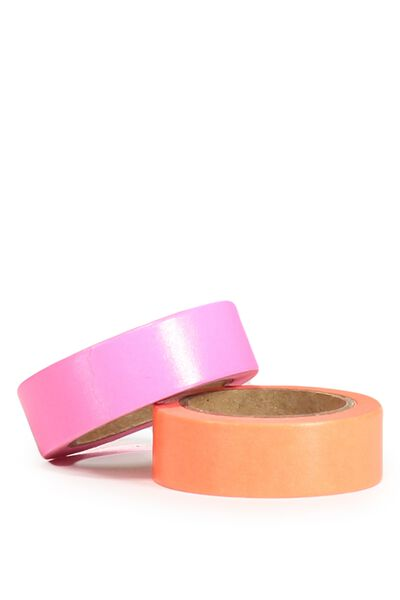 On A Roll Tape, FLURO PINK/CORAL