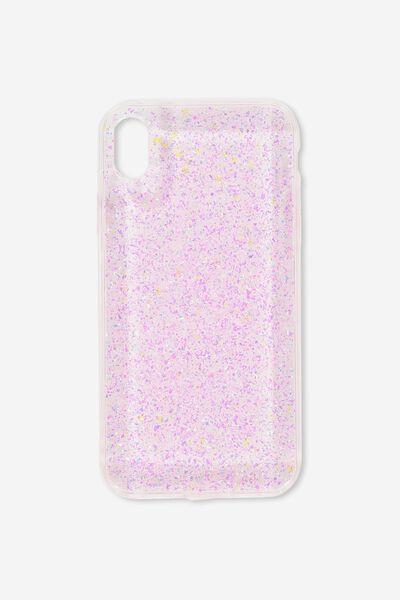 Transparent Phone Cover Iphone Xr, PINK FOILING