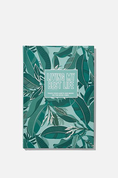 A5 Fashion Activity Journal, LIVING MY BEST LIFE