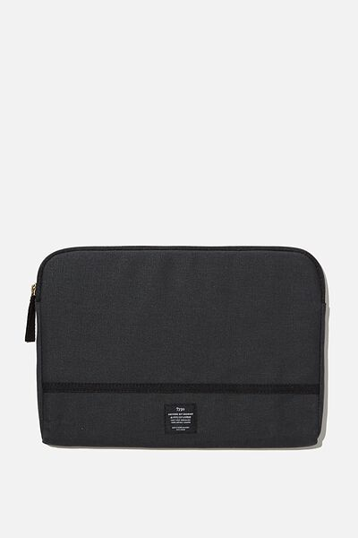 "Take Me Away 11"" Laptop Case, WASHED BLACK"