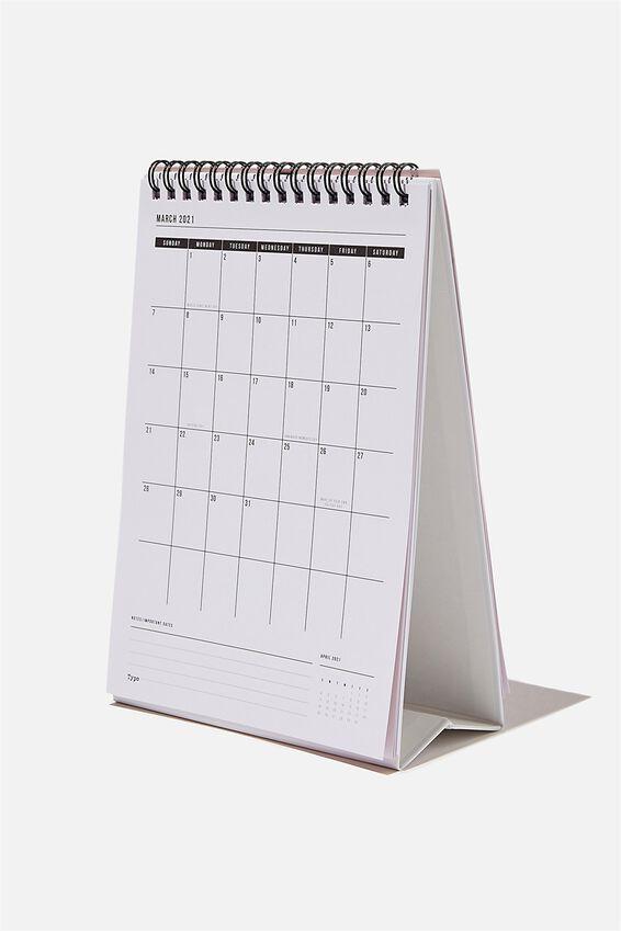 2021 Get A Date Flip Calendar, CAT MOODS