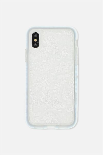 Superior Phone Case X, WHITE LACE