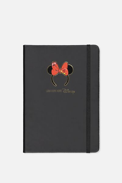 A5 Licensed Buffalo Journal, LCN MINNIE FLORAL BOW