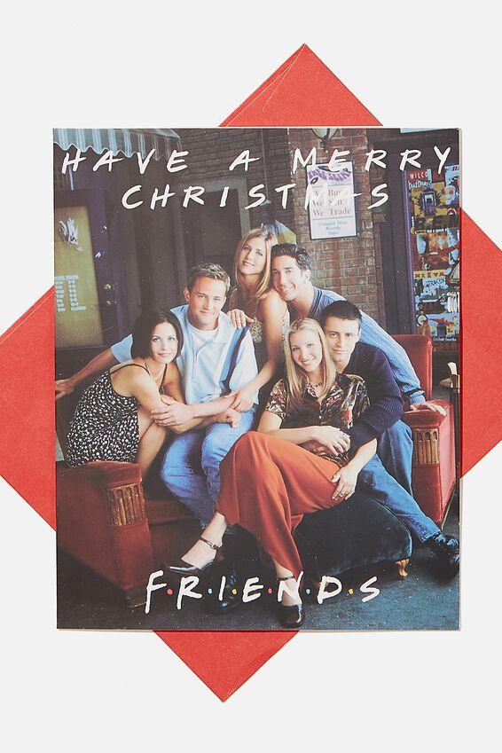 Friends Christmas Card 2020, LCN WB FRIENDS CHRISTMAS