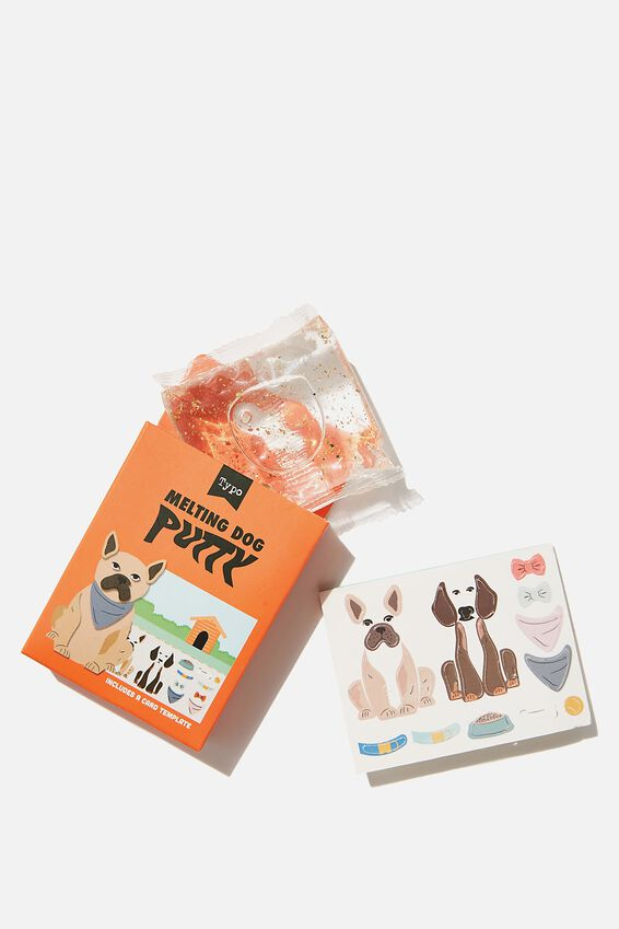 Puzzling Putty, BUILD A DOG PUTTY