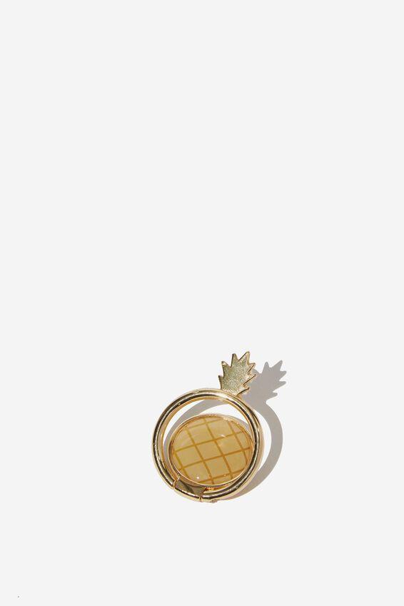 Metal Phone Ring, PINEAPPLE