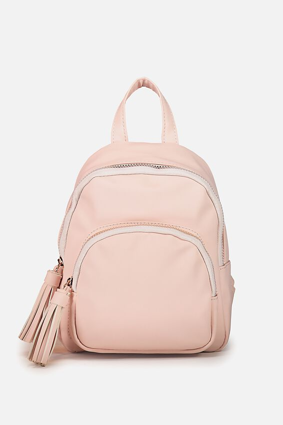 Mini Madrid Backpack, PINK FRINGE