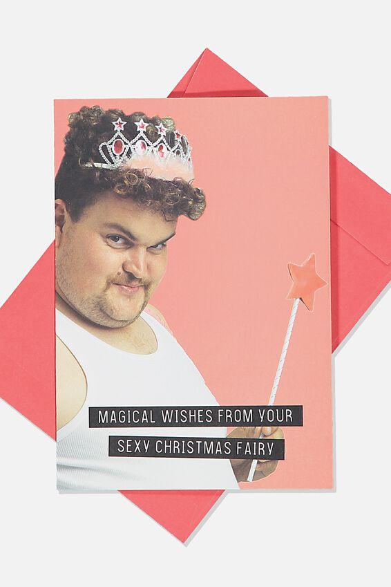 Christmas Card, SEXY CHRISTMAS FAIRY