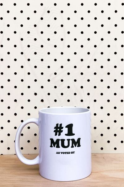 Personalised Mug, #1 MUM 2.0