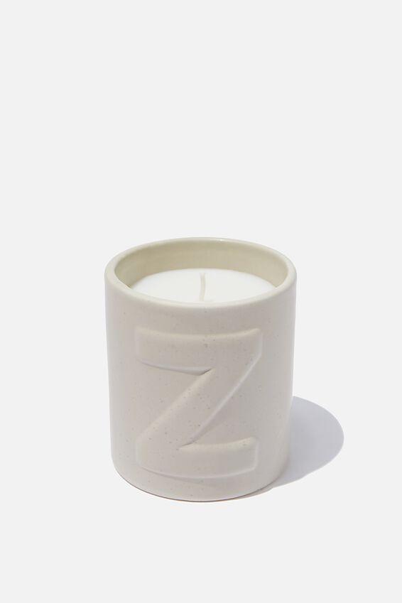 Alpha Candle, Z