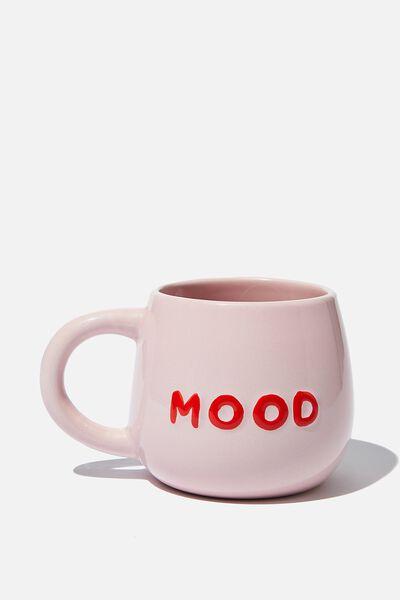 Subtle-Tea Mug, PINK MOOD
