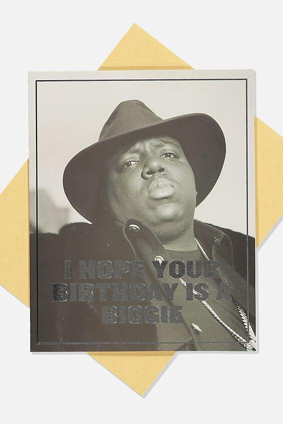 Biggie Funny Birthday Card, LCN MT BIG BIRTHDAY