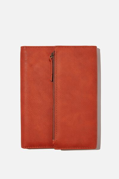 2021 Zip Pocket Diary, RUST