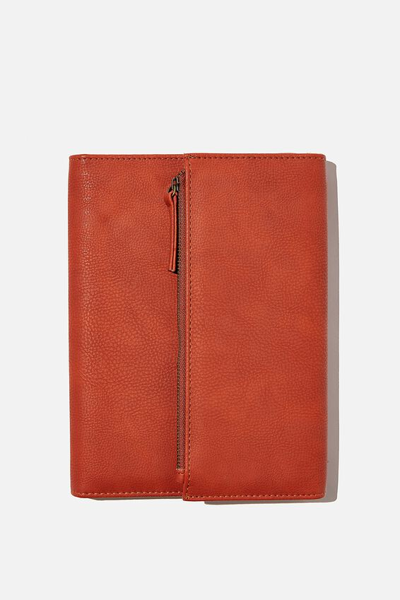 2021 Zip Pocket Diary, RUST