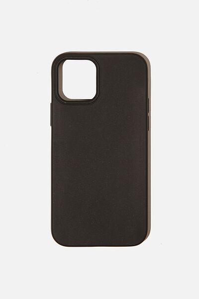 Slimline Recycled Phone Case Iphone 12, 12 Pro, BLACK