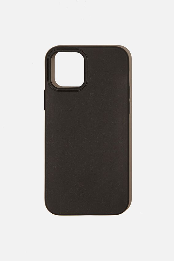 Slimline Recycled Phone Case Iphone 12, 12 Pro, BLACK