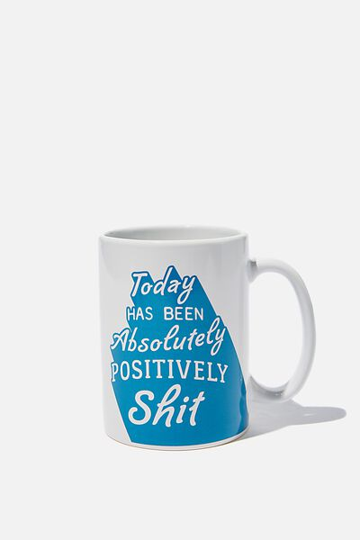 Double Dose Mug, ABSOLUTELY POSITIVELY!