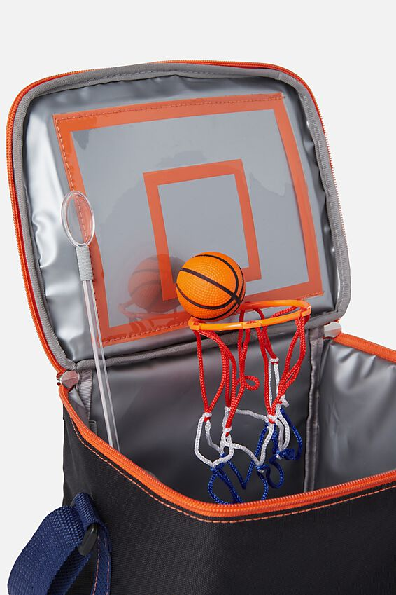 Premium Cooler Lunch Bag, BASKETBALL
