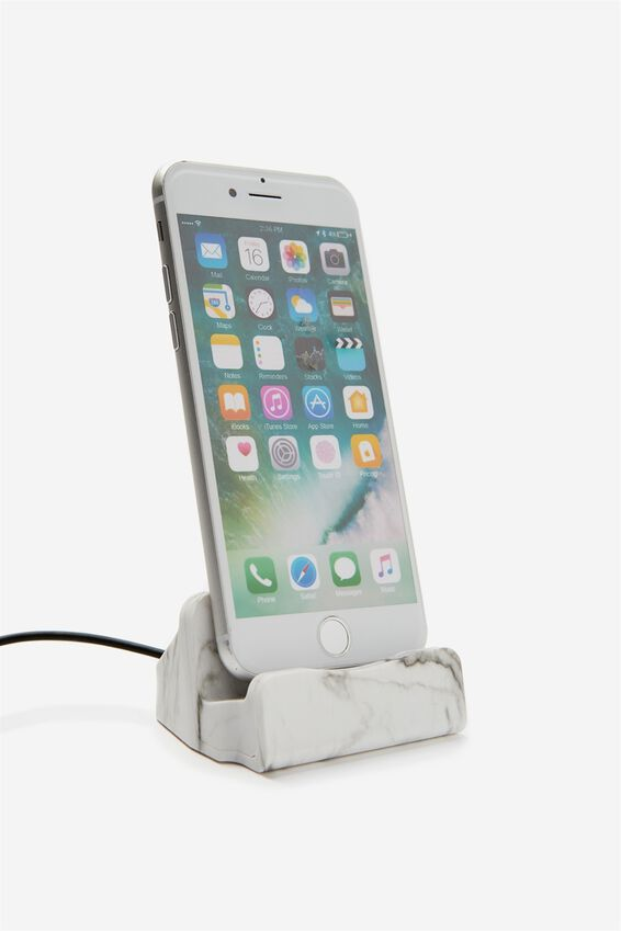 Phone Docking Station, MARBLE