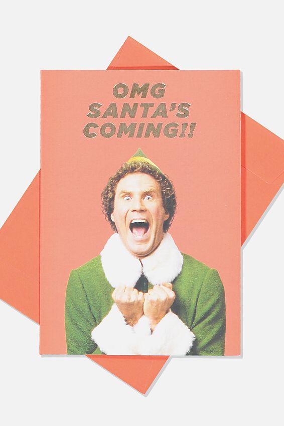 Elf Christmas Card 2019, LCN WB ELF