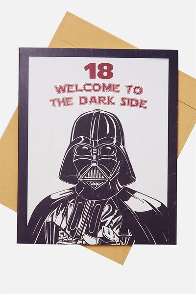 Age Card, STAR WARS 18 DARK SIDE