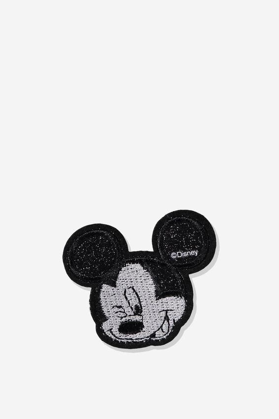 Disney Fabric Badge, LCN MICKEY WINK