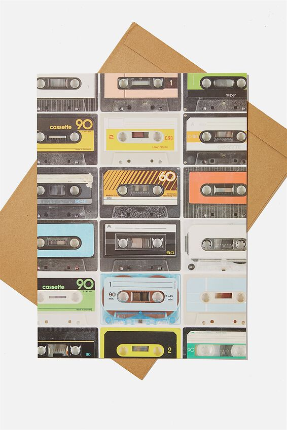Large Fashion Card, CASSETTE TAPES