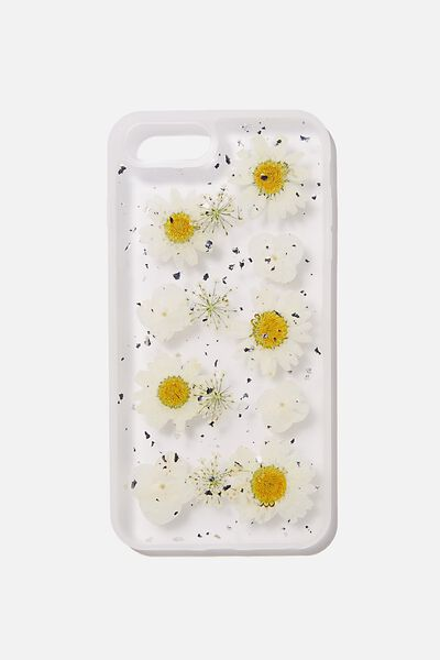 Snap On Protective Phone Case 6, 7, 8 Plus, TRAPPED DAISY