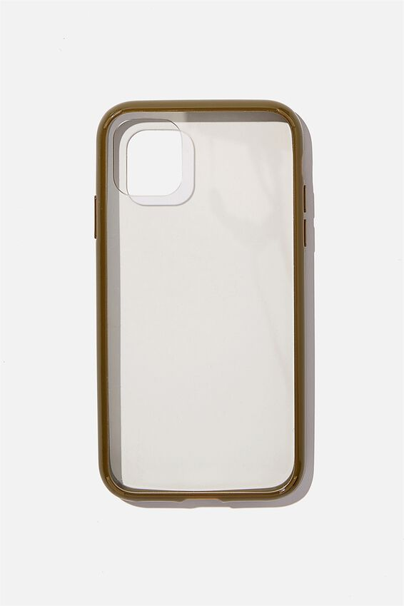 Protective Phone Case iPhone 11, CLEAR KHAKI