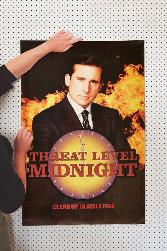 The Office Poster, LCN UNI OFF MIDNIGHT