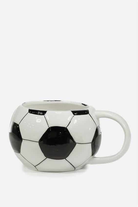 Novelty Shaped Mug, SOCCER