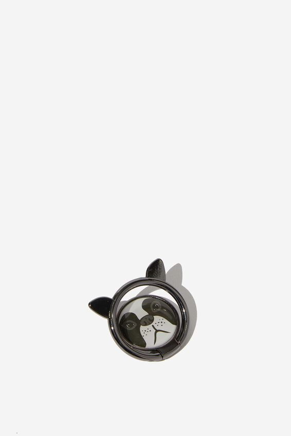 Metal Phone Ring, FRENCH BULLDOG