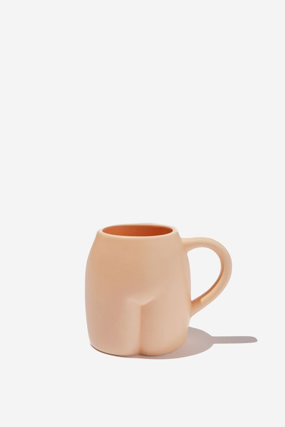 Novelty Shaped Mug, SLIM BUTT!