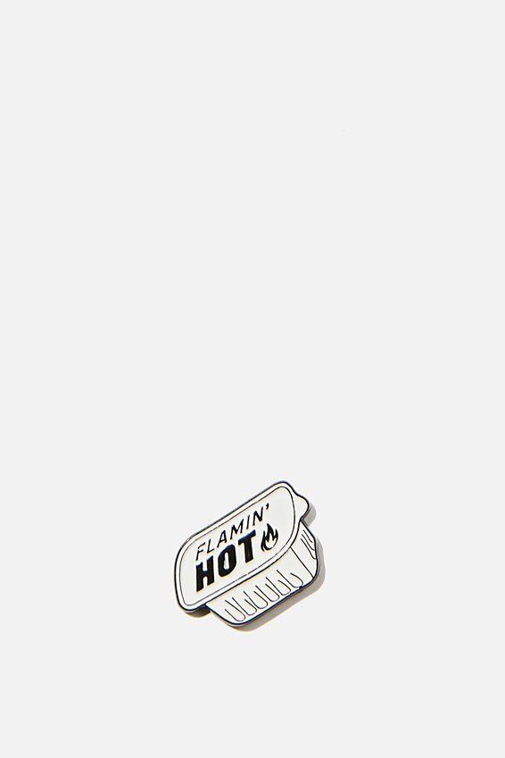 Enamel Stickers, HOT SAUCE