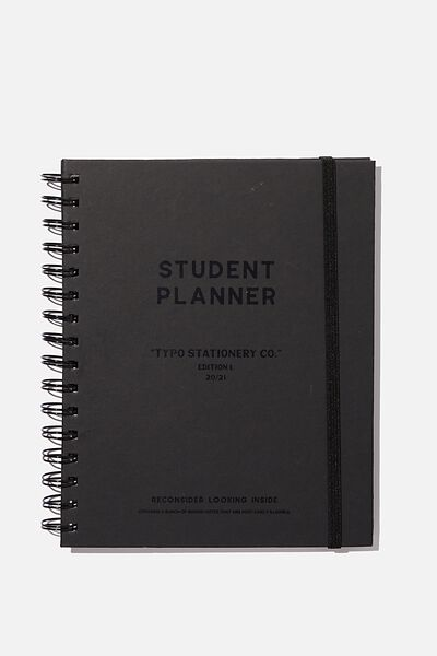 Student Planner 2020 / 21, BLACK