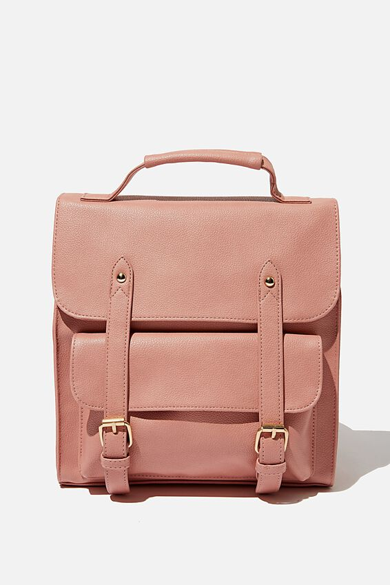 Buffalo Satchel Backpack, DUSTY ROSE