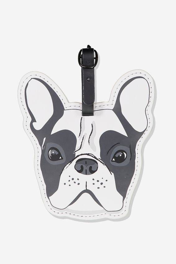 Shape Shifter Luggage Tag, FRENCHIE