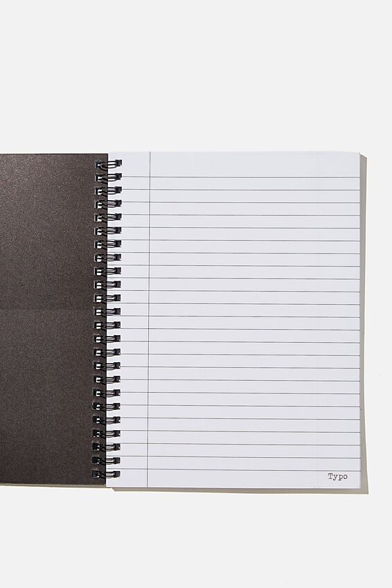 A5 Spinout Notebook Recycled, ABSOLUTE F ING GENIUS BLUE!!