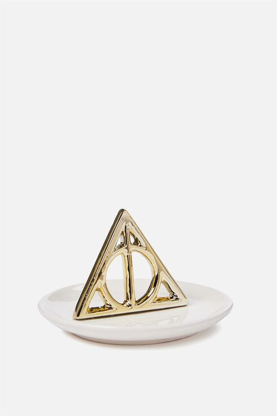 Novelty Trinket Tray, LCN HP DEATHLY HALLOWS