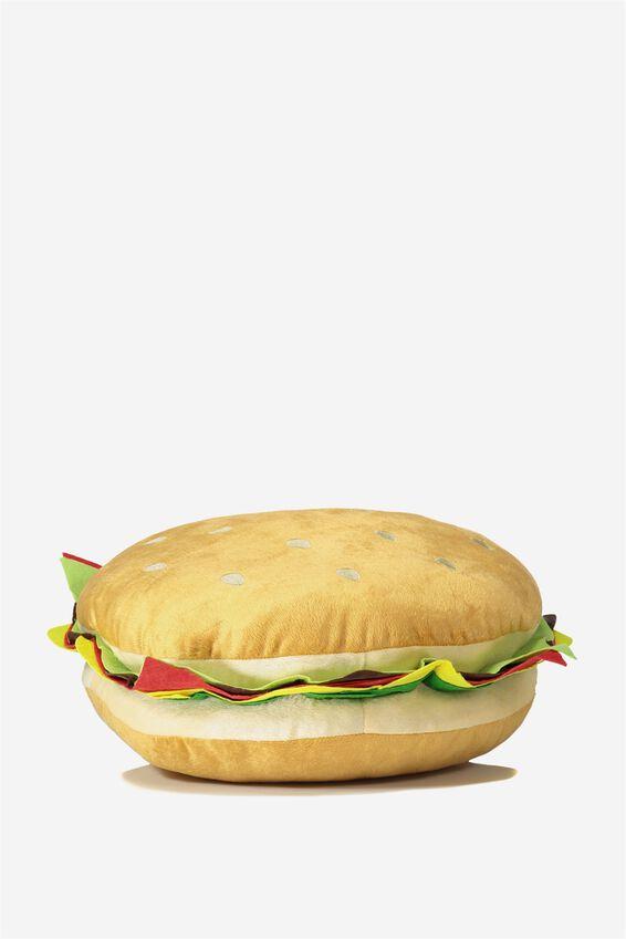 Hamburger Get Cushy Cushion, GOURMET BURGER