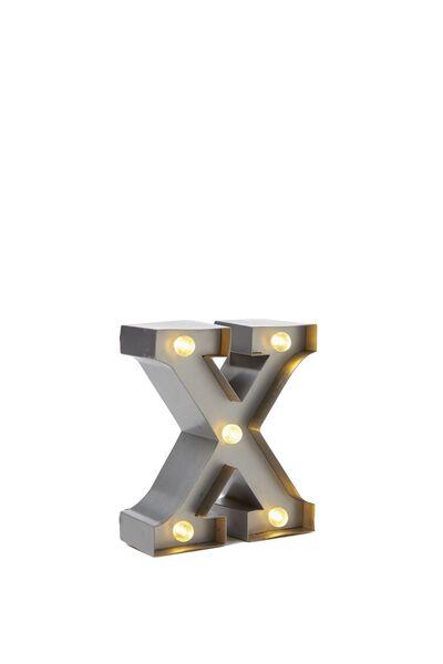 Mini Marquee Letter Lights 10cm, SILVER X