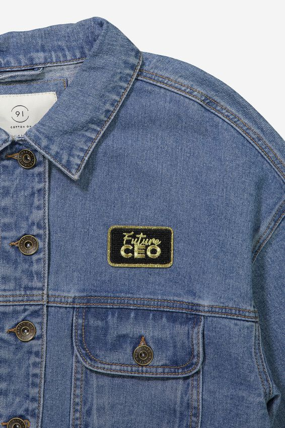 Fabric Badge, CEO