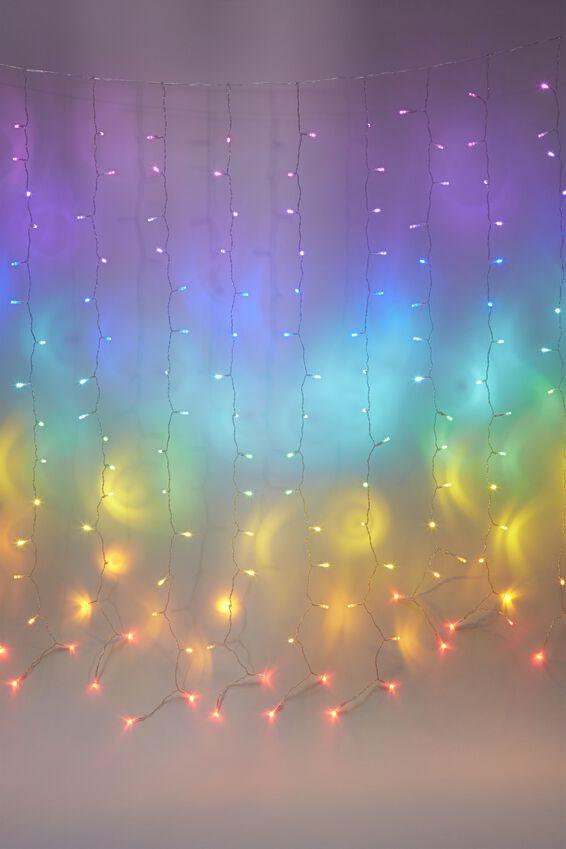 Cascading Lights, RAINBOW