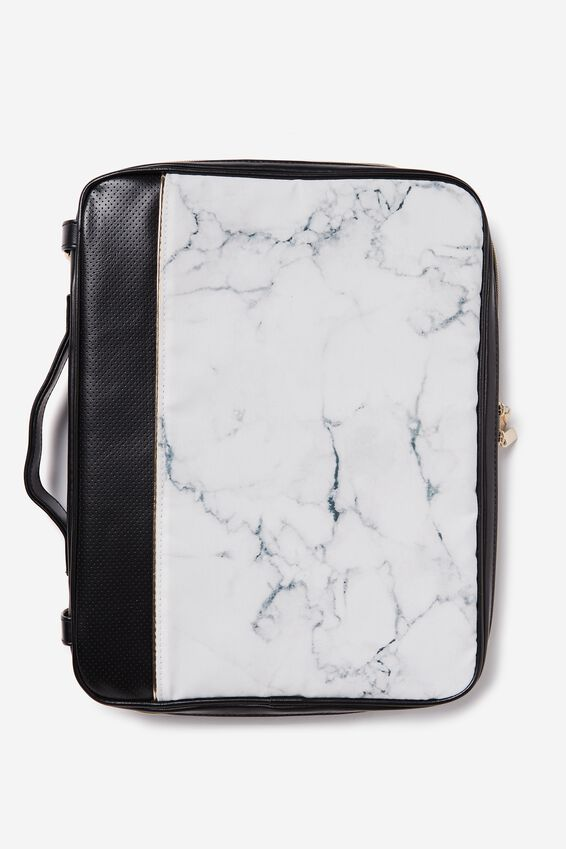 Mobile Laptop Folio, MARBLE